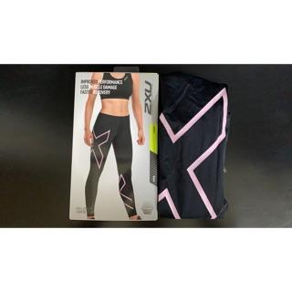 正品 2XU女款壓縮褲 馬拉松 慢跑 澳洲三鐵賽事第一品牌 運動壓縮褲 臺中市