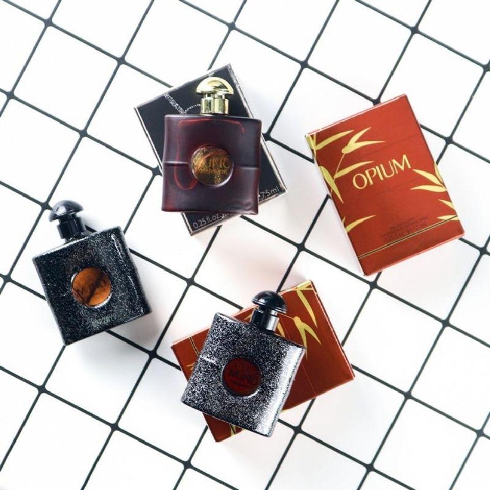好货黑鴉片香水小樣品牌試用裝持久淡香自由之水7.5ml少女反轉巴黎