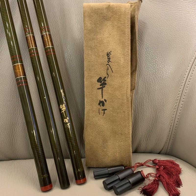 伽瑪卡茲 Gamakatsu Hera 竿掛 日本🇯🇵製 並繼竿 鯽魚竿