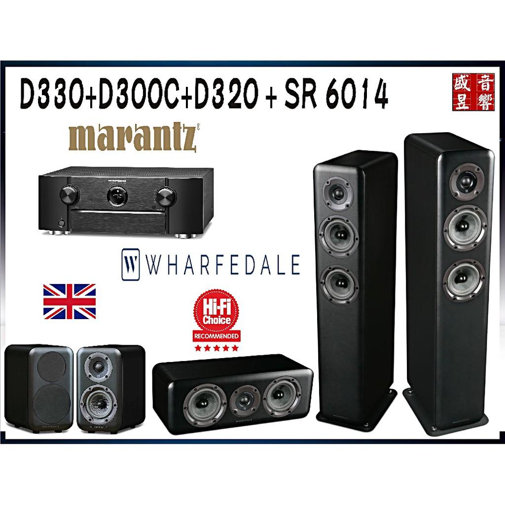 Wharfedale 英國 D330+D320+D300C 家庭劇院組 + MARANTZ RS6014