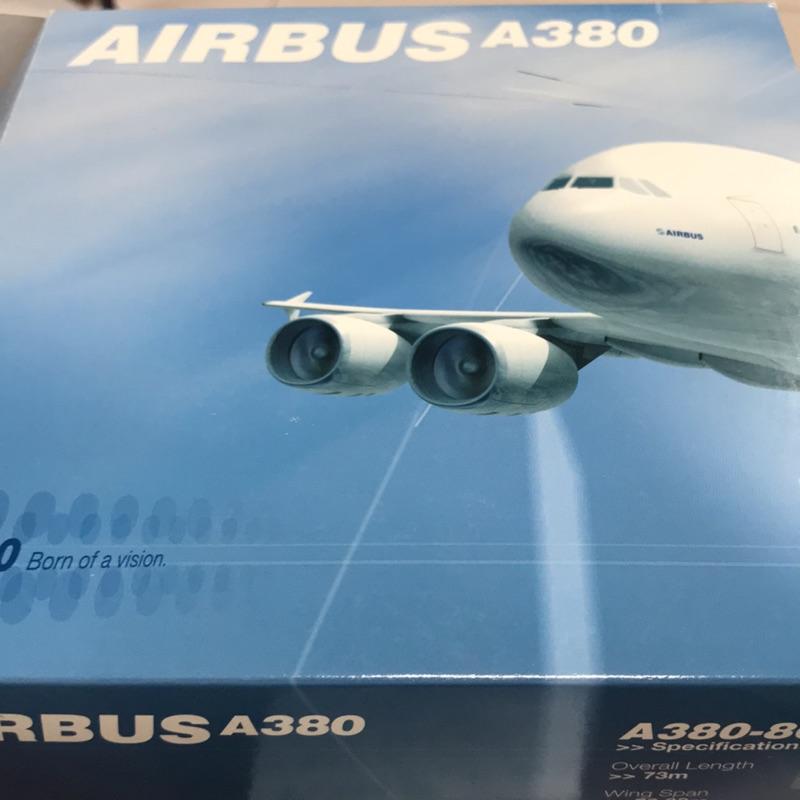 新加坡航空 AIRBUS A380-800 模型飛機 1:400