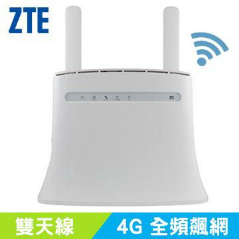 中興ZTE MF283+ 4G網卡(插sim卡即可分享wifi)(可接電話線通話),無線路由器,分享器