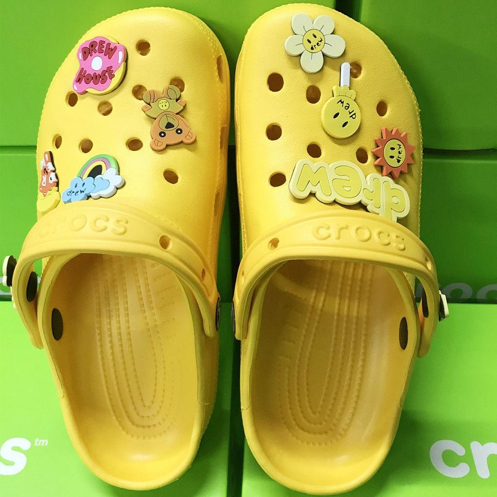 【ENKAKO】Drew  house 比伯同款  洞洞鞋  男鞋 女鞋  涼鞋拖鞋休閑鞋