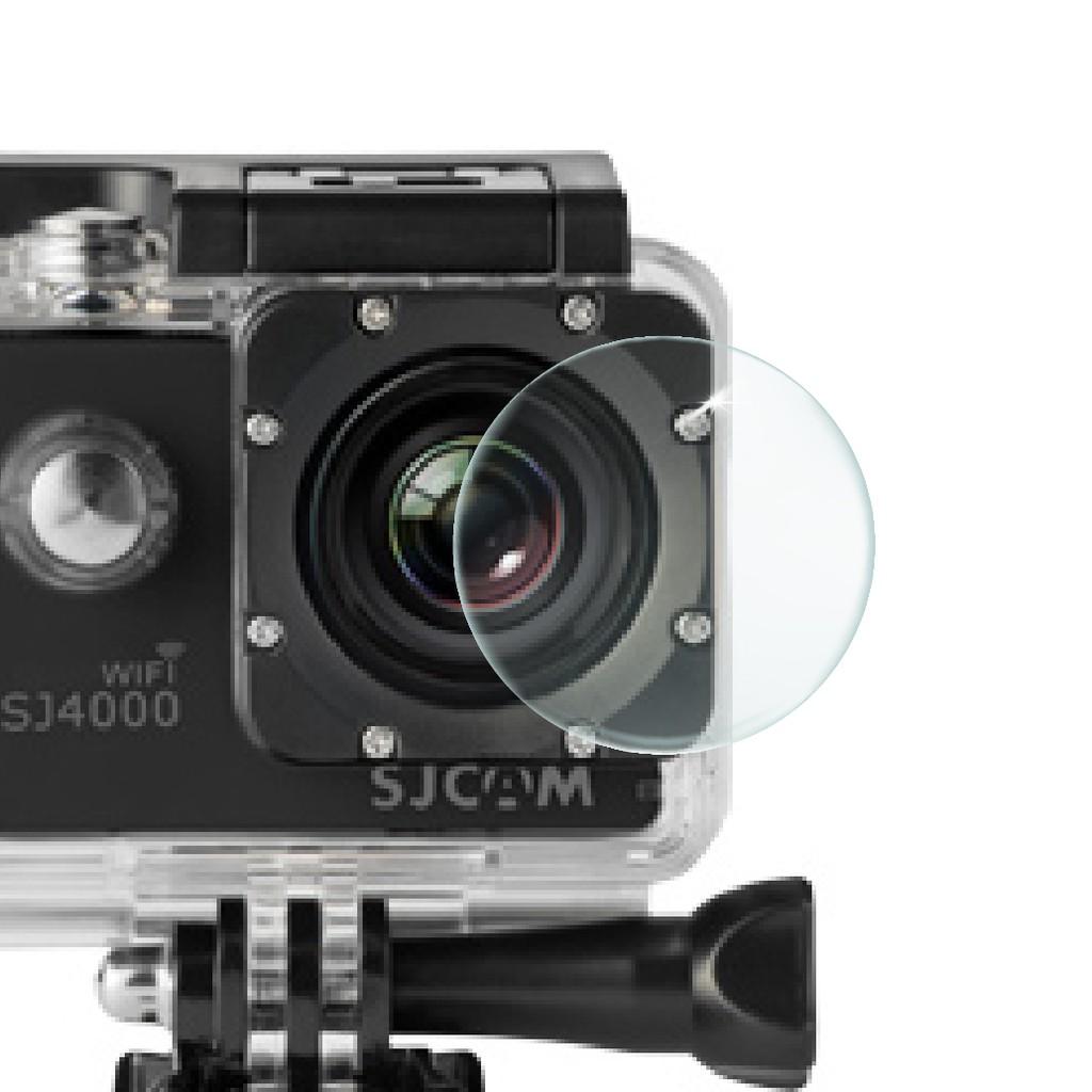 SJCAM 原廠充電防水殼鏡頭玻璃膜 (SJ5000X/SJ4000)【極限專賣】