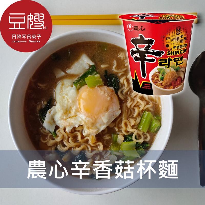 【農心】韓國泡麵 農心 辛香菇味杯麵(68g)