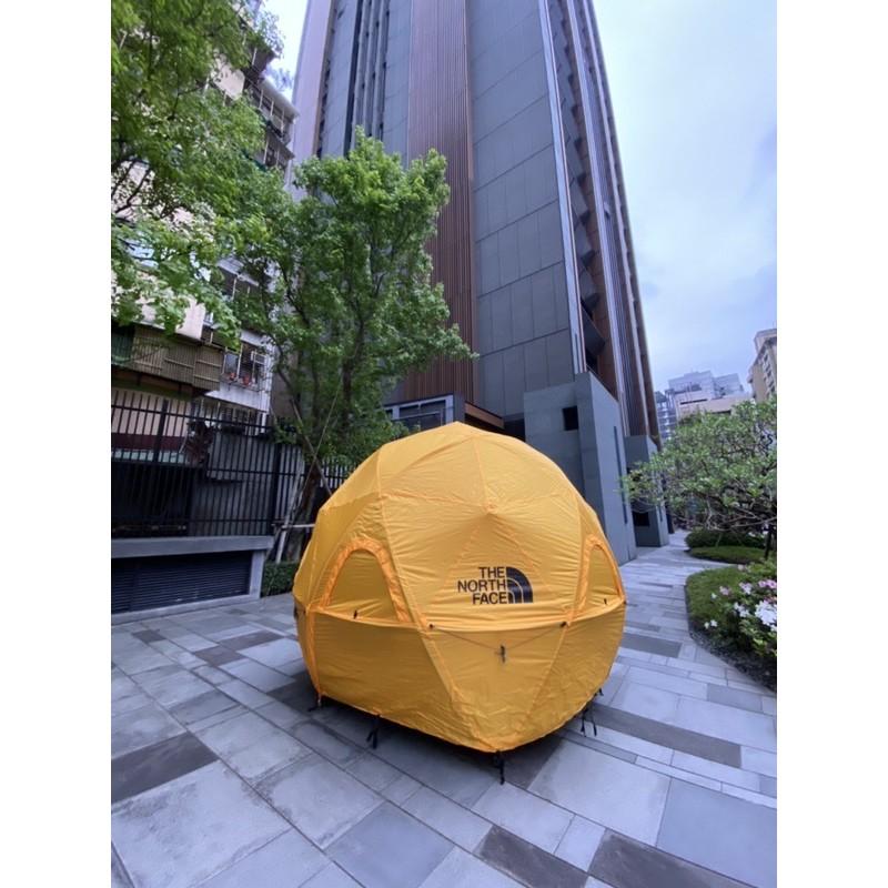 日本限定 The North Face Geodome4 球形帳篷 黃球外套