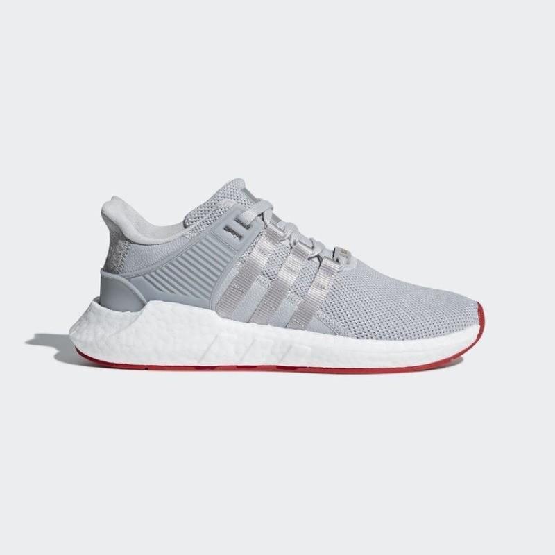 Adidas Originals Eqt Support 93/17 Cq2393 us12 boost 灰白紅