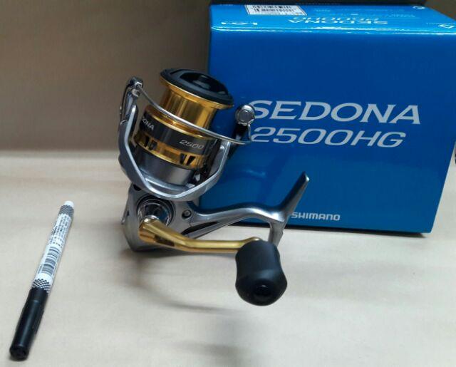 SHIMANO 17 SEDONA 2500HG  平價 紡車捲線器 軟絲 路亞 烏鰡專用