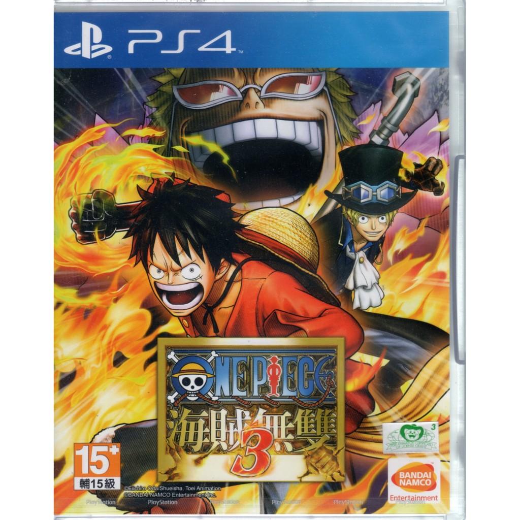 PS4遊戲 航海王 海賊無雙 3 One Piece 中文亞版 【魔力電玩】