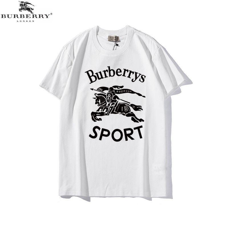 Burberry 博柏利 短袖 巴寶莉 戰馬大LOGO 短T 短袖上衣短袖素T恤衣服男生衣 男T 上衣 潮T 衣服