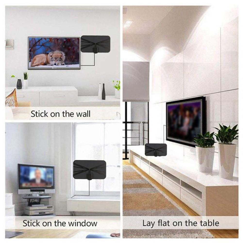 4K HDTV天線數字天線室內放大天線1080P電視高清數字電視天線