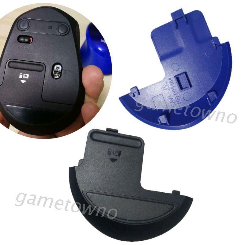♞☒適用於 Logitech 鼠標 M275 M280 M330 M331 鼠標的 Wili 電池盒蓋鼠標殼