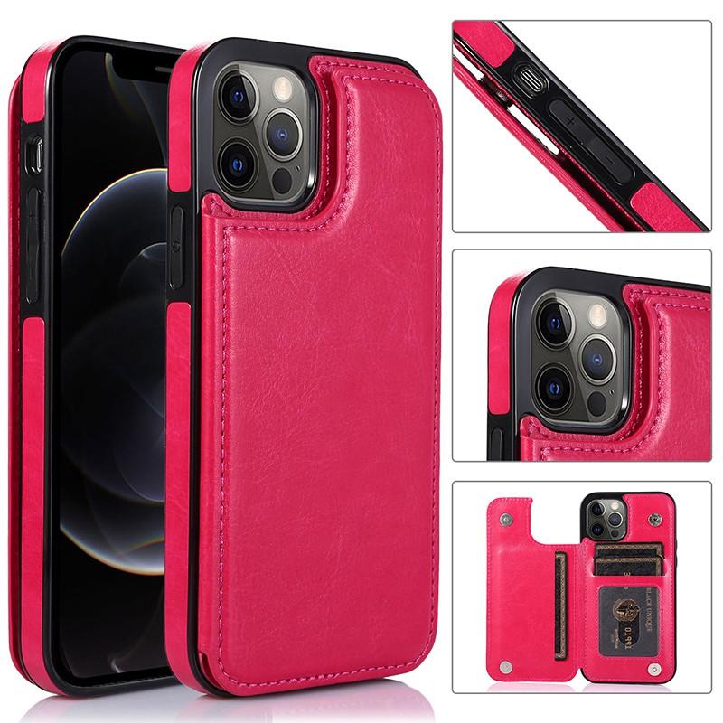 豪華【新品】蘋果手機皮套皮革iphone12 mini 7plus 8 X 11pro max XR 翻蓋插卡手機殼
