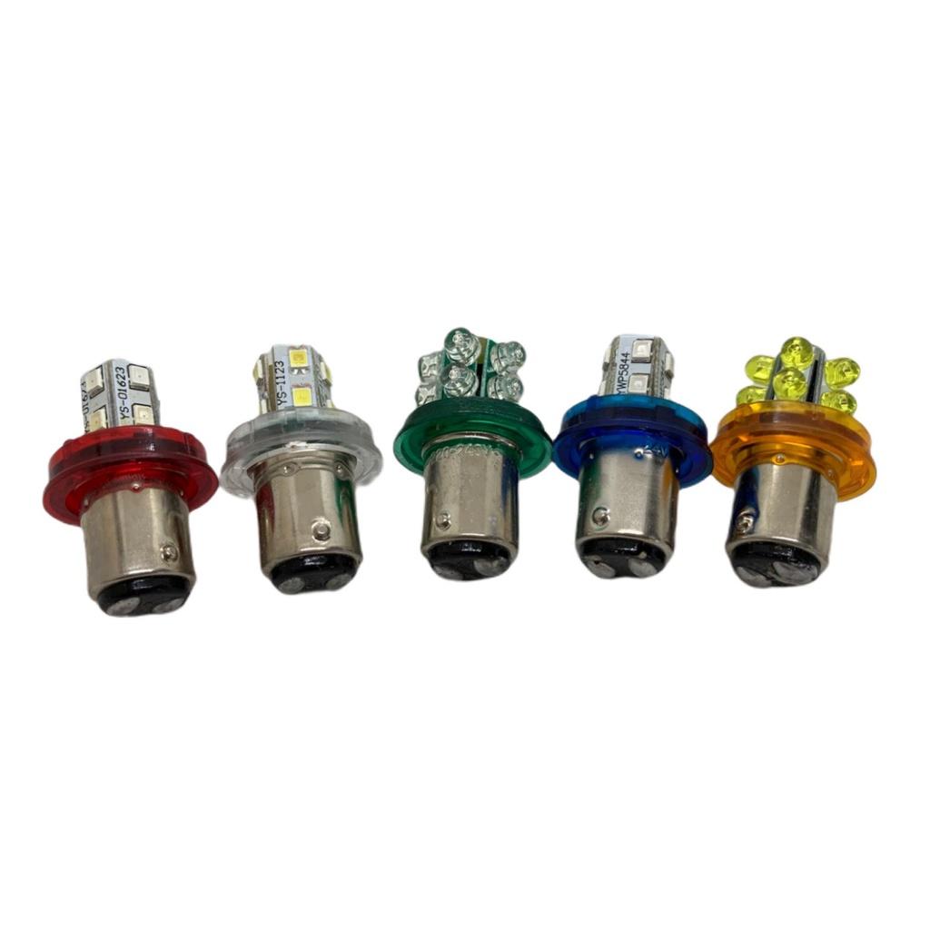B15 雙點 LED 燈泡 桿燈燈泡 指示燈燈泡 工控燈泡