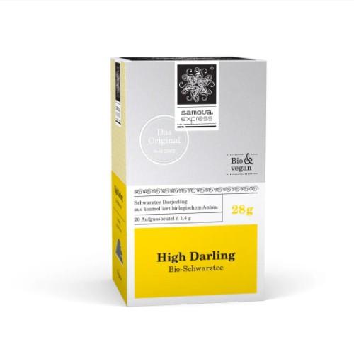 『亞杰國際』德國samova有機大吉嶺紅茶(親密愛人)-快沖茶包20入