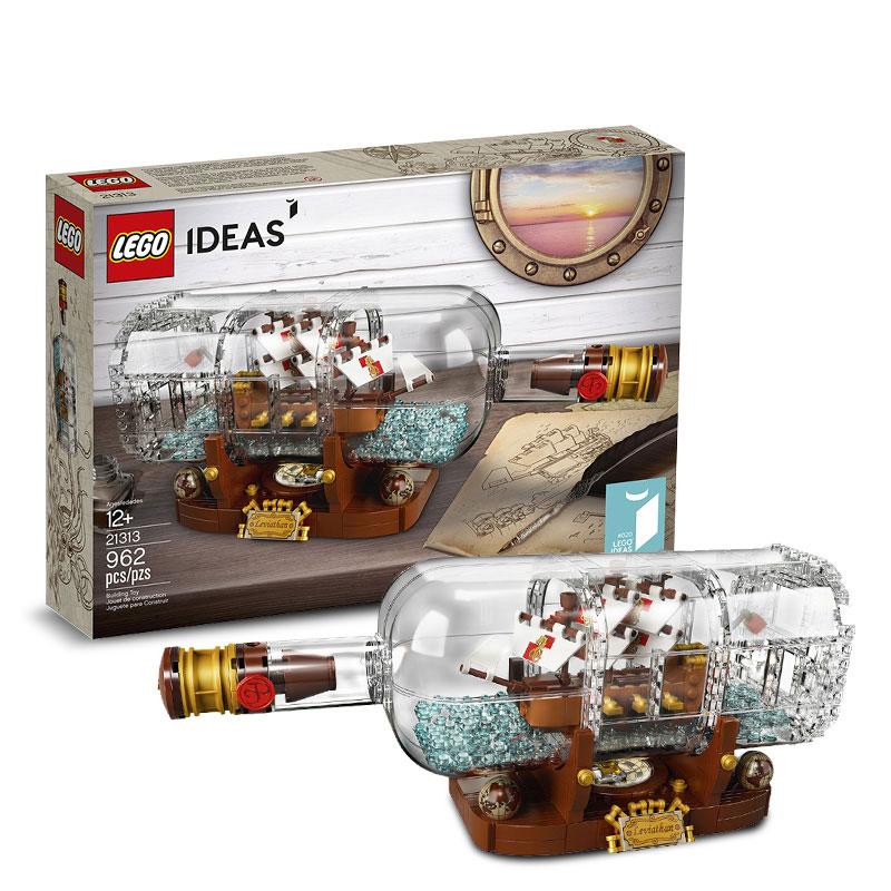 現貨正版 LEGO樂高 21313 瓶中船 IDEAS系列