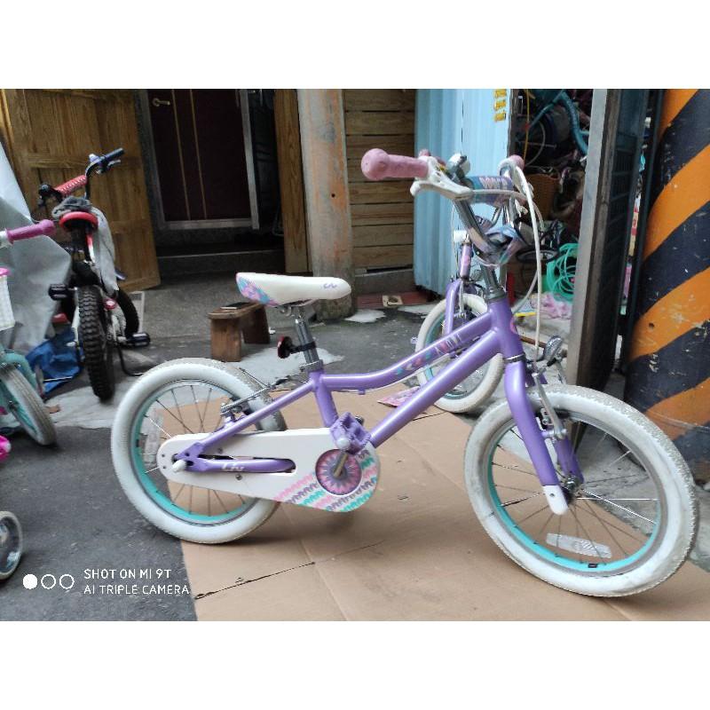 現貨新品車Liv ADORE 紫色 16吋 加送一組全新輔助輪 捷安特童車 出清 庫存品 展示車 樣品車 過季車