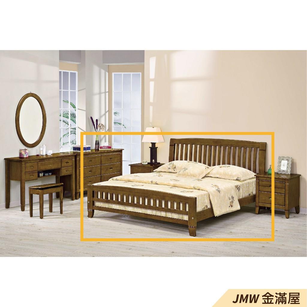 [免運]標準雙人5尺 床底 單人床架 高腳床組 抽屜收納 臥房床組【金滿屋】C059-2