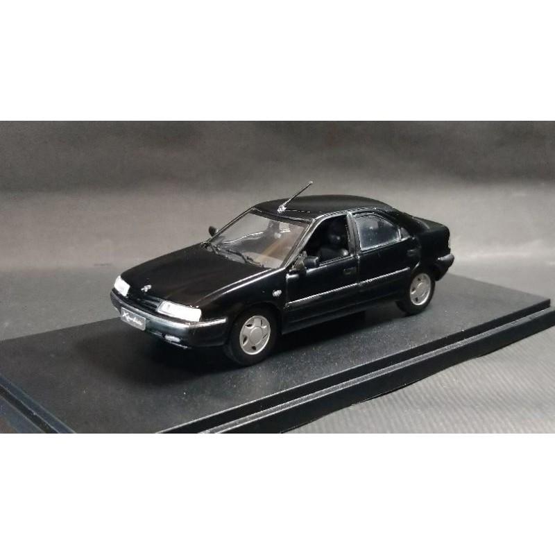【經典車坊】1:43 1/43 Citroen Xantia 首發款 絕版模型 附透明展示盒 by UH巡