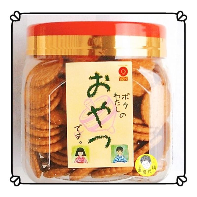 小圓餅 野村煎豆 天日鹽美樂小圓餅 日本零食
