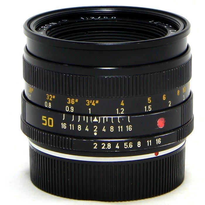 『永佳懷舊』LEICA 萊卡 Summicron-R 50mm F2 no.2823805 ~中古品~