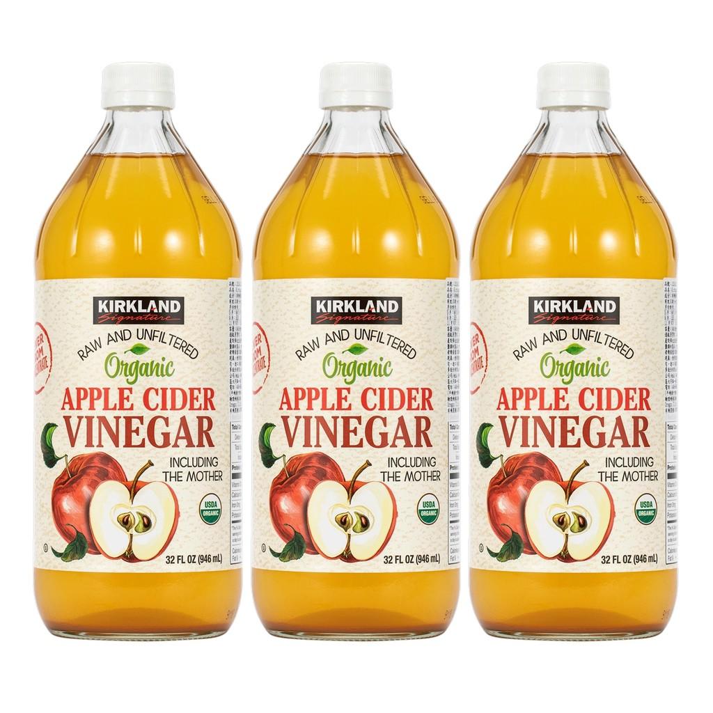 免運可刷卡 好市多 科克蘭 有機蘋果醋 Kirkland Signature Organic Apple#1219113