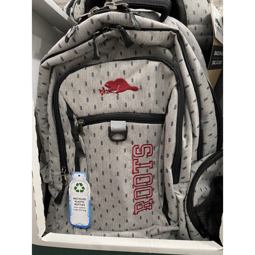 🌻🌻好市多代購🌻🌻ROOTS多功能休閒後背包/可放17吋筆電/防潑水表面/好背大容量多隔層