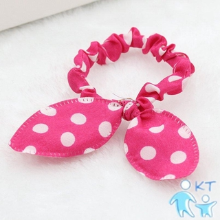 珍珠打結的頭髮圈圓形果凍色頭髮彈力黑色頭髮8351 KT母嬰上新品 母嬰產品