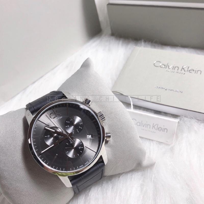 🇺🇸 Calvin Klein / CK / 商務三眼腕錶 / k2G271CK