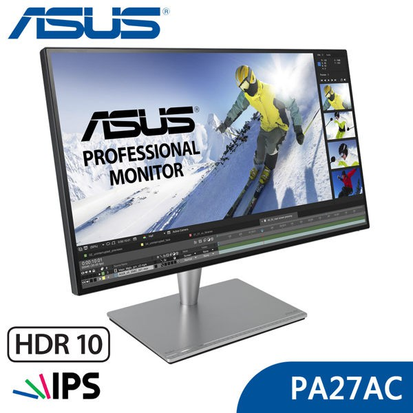 華碩 PA27AC 27型 2K HDR IPS 專業螢幕 ASUS 薄邊框 內建喇叭 子母畫面【每家比】