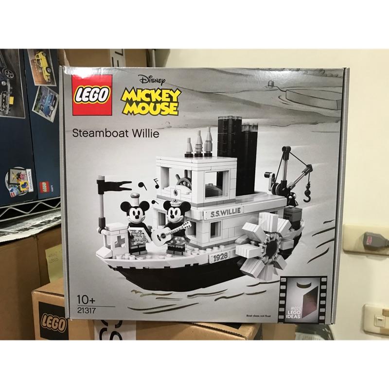 LEGO 21317 Ideas Steamboat Willie 米奇船