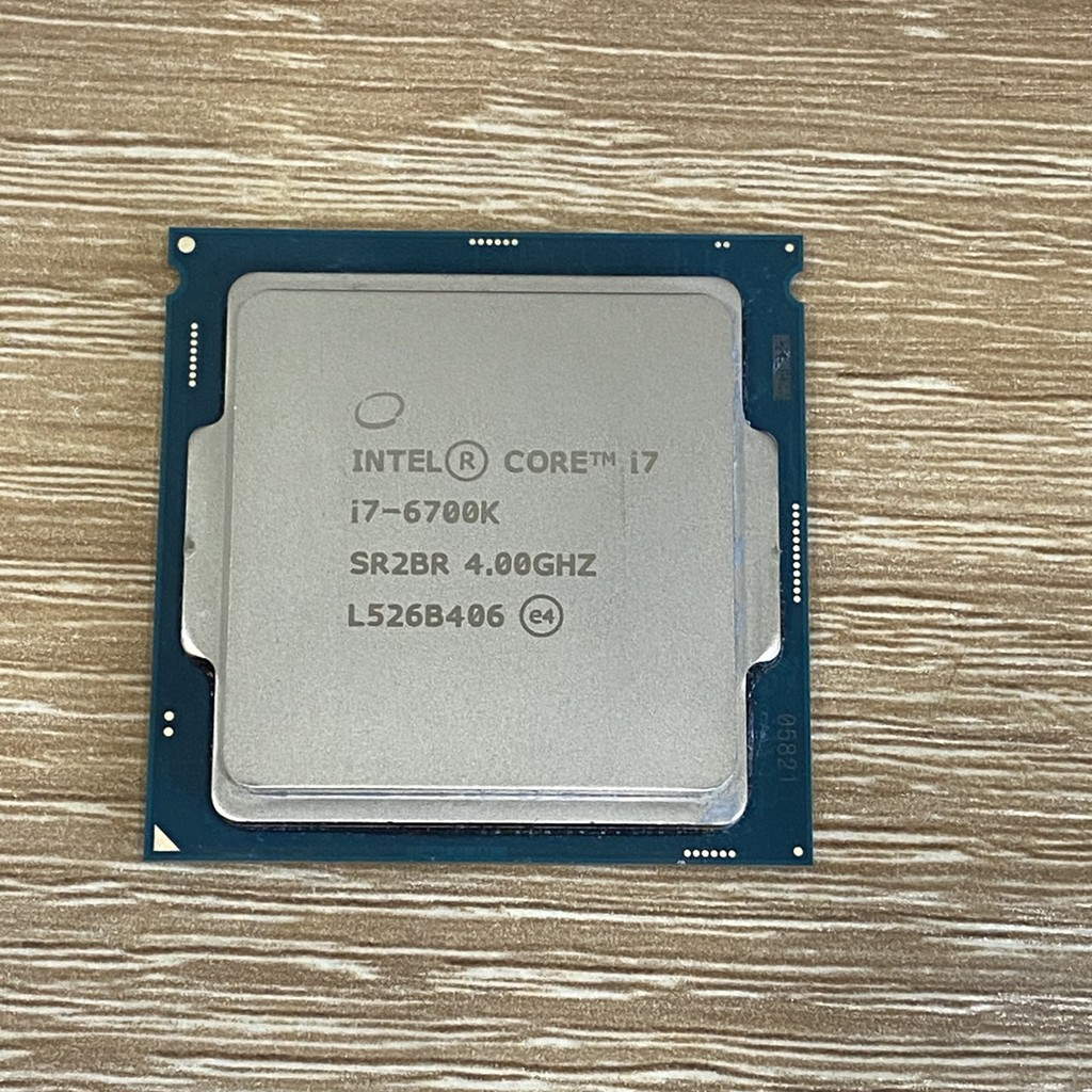 頂級LGA1151 Intel i7 6700K 4.0G up to 4.2G