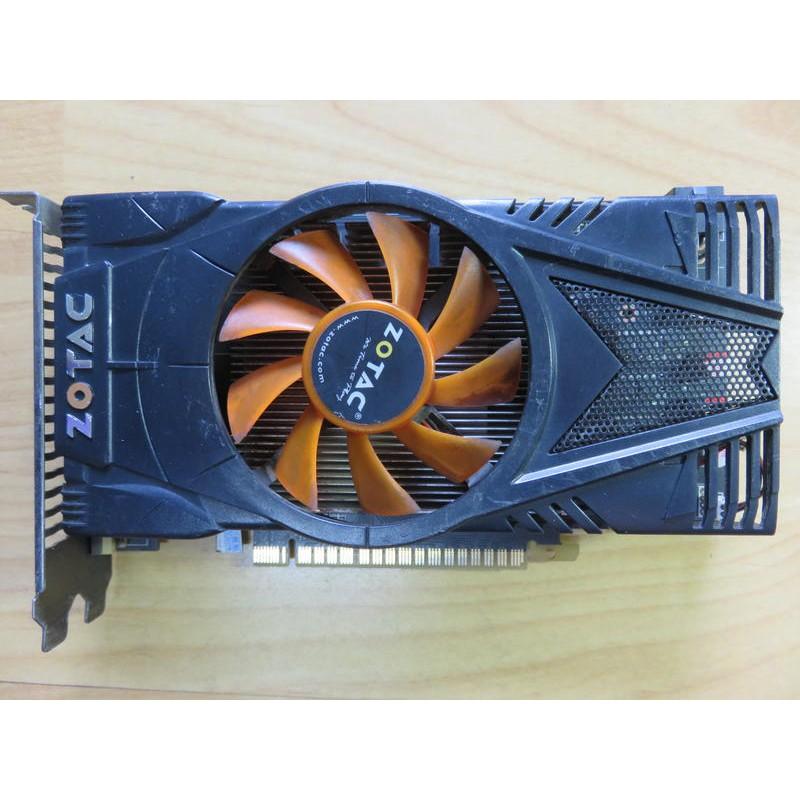 E.PCI-E顯示卡- ZOTAC GTX550Ti-1GD5 DDR5 192BIT DDR5 雷霆版 直購價780