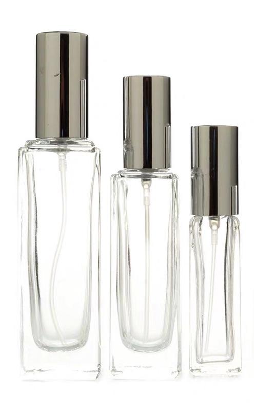 【防疫現貨】高品質75%酒精玻璃噴霧瓶(亮金屬銀色)台糖75%酒精