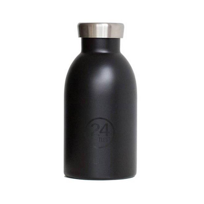 24Bottles®不鏽鋼雙層保溫瓶/ 330ml/ 紳士黑 誠品eslite