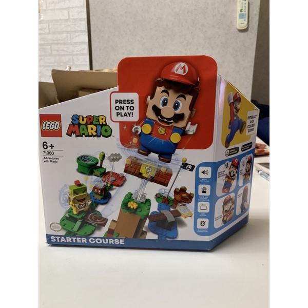 全新未拆現貨正品(免運)樂高盒組 LEGO 71360 Mario-瑪利歐冒險主機/路易吉71387/71380擴充組