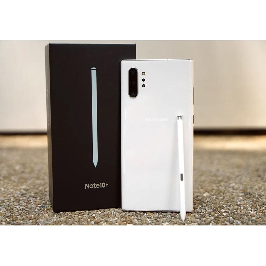 超猛三星 Note10+ Note10 Plus 256G 二手 送玻璃貼 無線充電盤 45W快充組 鏡頭鋼化膜