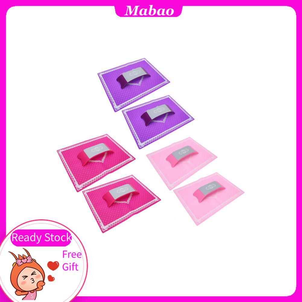 Mabao 修指甲手枕指甲藝術健康墊矽膠家用沙龍