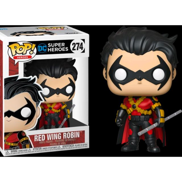 柴寶趣  FUNKO POP 274 羅賓 紅之翼 BATMAN 蝙蝠俠 DC 英雄 澳洲空運 正版
