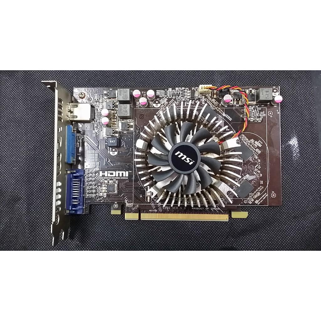 微星R6670-2GD3顯示卡/附FURMARK測試圖/良品 $699