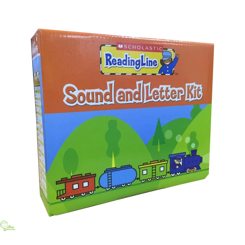 Scholastic ReadingLine : Sound and Letter Kit【禮筑外文書店】[73折]