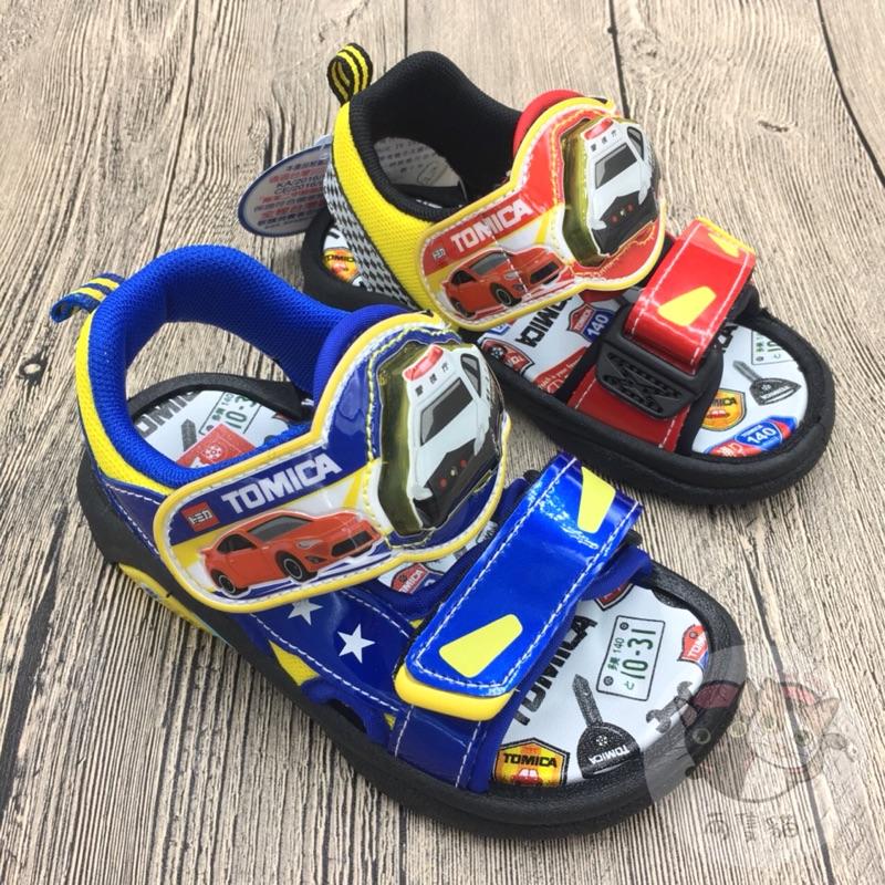 現貨 TOMICA涼鞋 電燈涼鞋 15~19公分 多美發光涼鞋