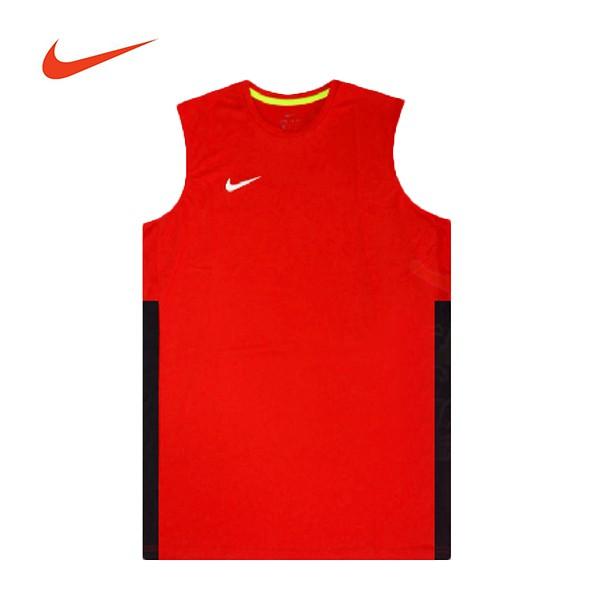 NIKE【839436-600】團體球衣 NIKE球衣 單面 透氣孔 紅黑