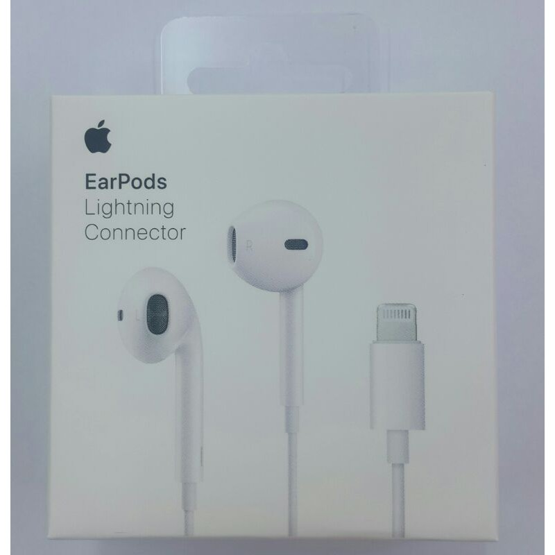 100% 保證 Apple iPhone  Earpods Lightning  原廠耳機