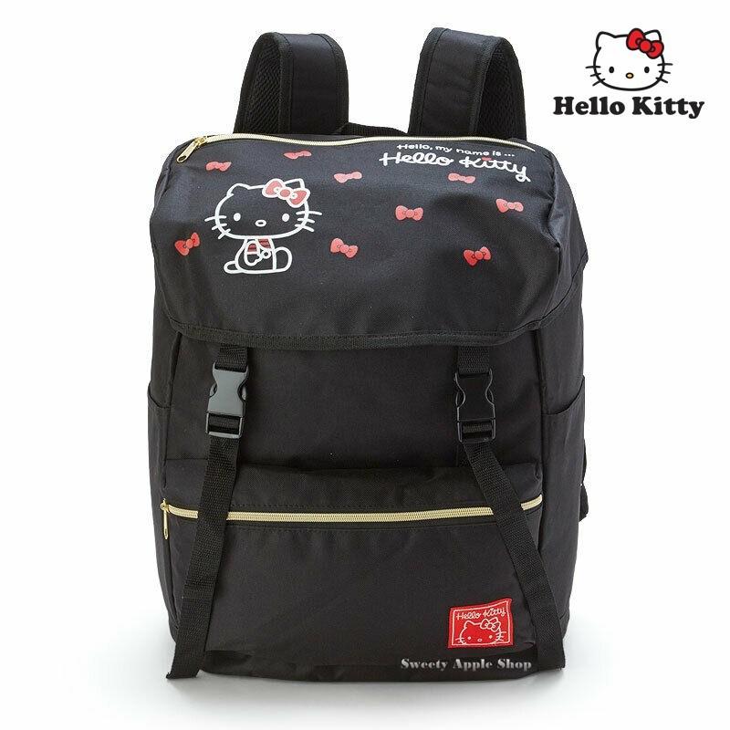 三麗鷗【TW SAS日本限定】HELLO KITTY 凱蒂貓 蝴蝶結版 30L 大容量 後背包
