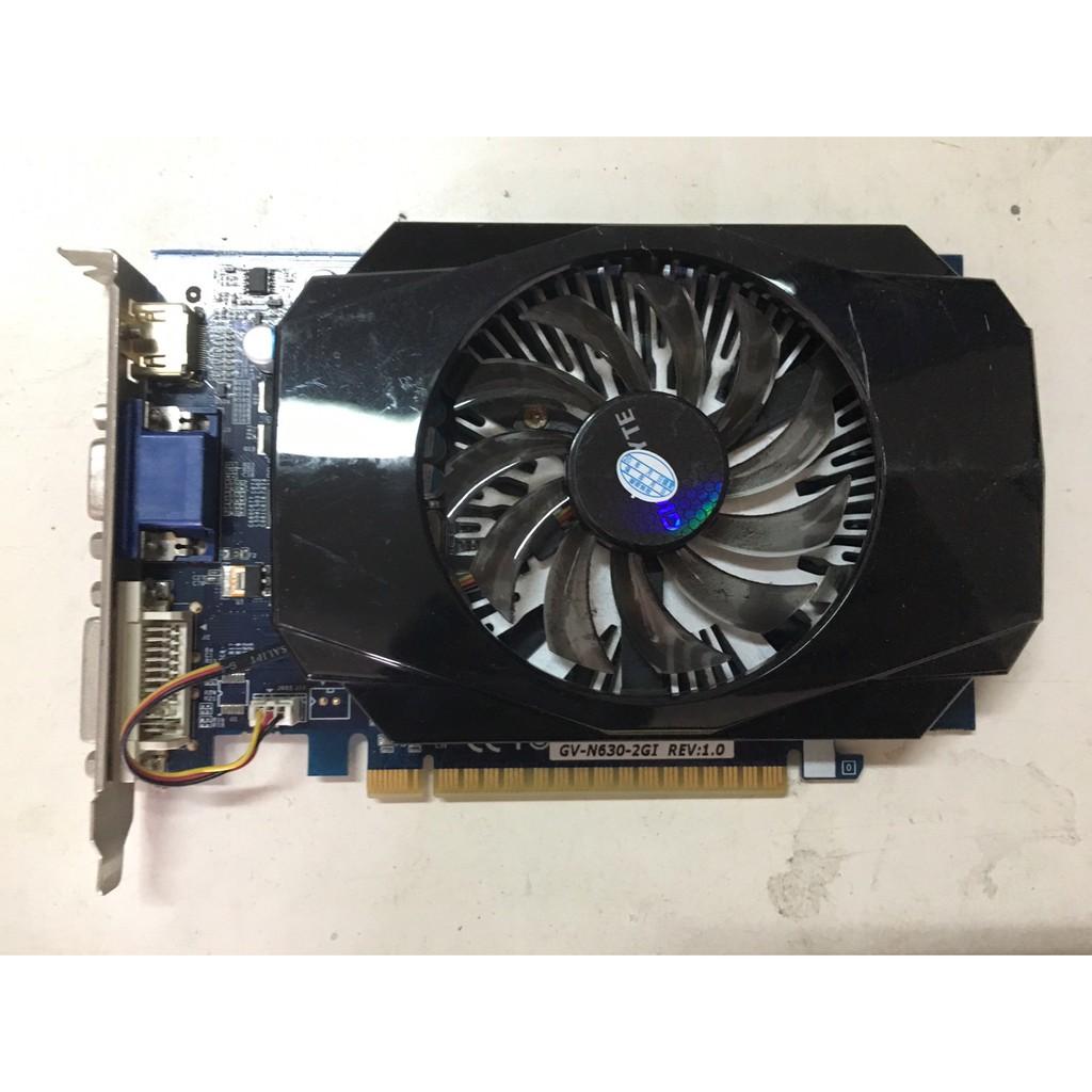 技嘉GIGABYTE  GV-N430-2GI / GV-N630-2GI  2G DDR3顯示卡 <二手良品>