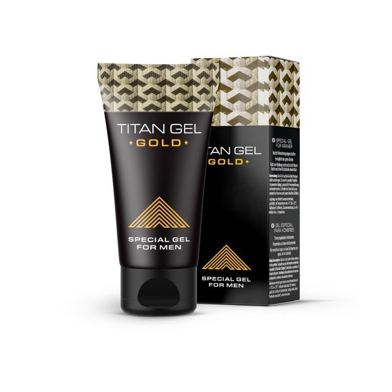 TITAN GEL GOLD 泰坦  凝膠 正品限量黃金加強版 最新批次