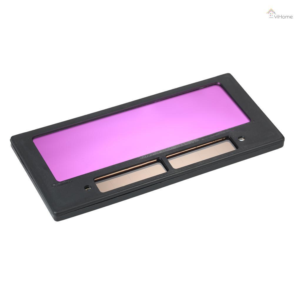 [現貨] 光控變色鏡片電焊面罩專用焊接鏡片太陽能自動變光液晶鏡片變光片