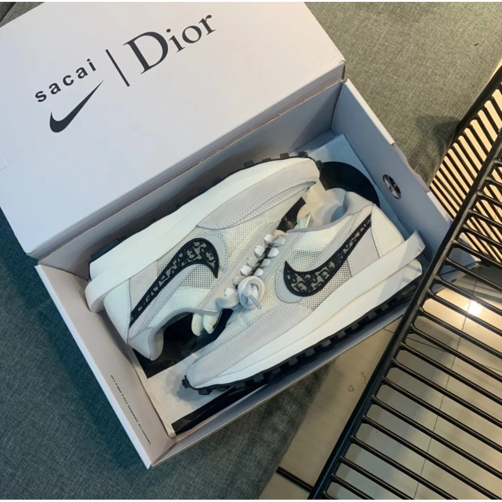 Nike x Sacai x Dior 聯名 20新款 白灰 客訂 專屬賣場