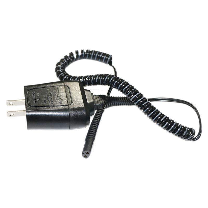用於Braun剃須刀系列的電源線7 3 5 S3充電器,用於Braun電動剃須刀190/199替換12V適配器美國插頭